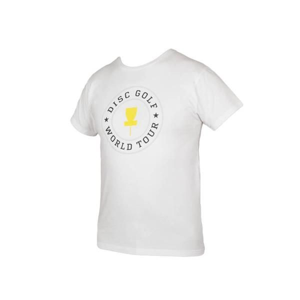 World Tour Mens Tee  02 -  Disc Golf Clothing and Apparel