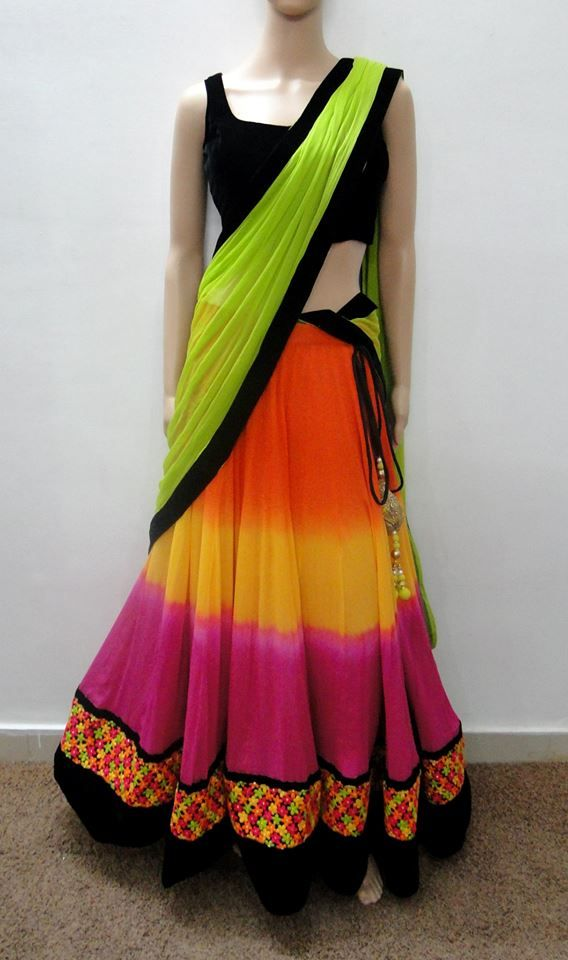 riot of colours!