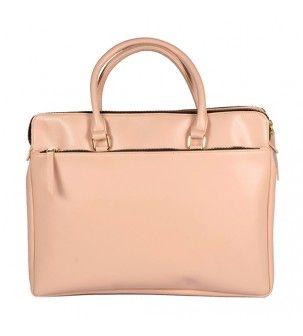 Nude pink Laptop bag