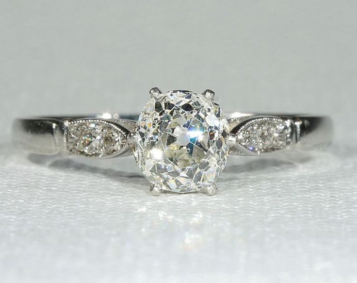 Vintage 1956 Engagement Rings