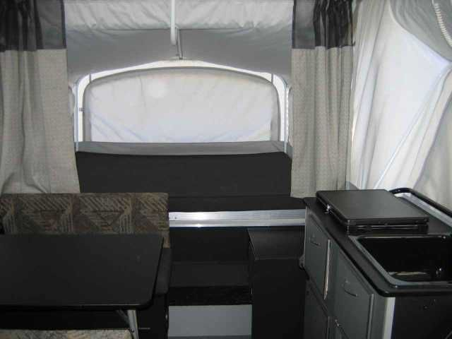 """2007 Used Fleetwood Evolution Pop Up Camper in North Carolina NC.Recreational Vehicle, rv, 2007 Fleetwood Evolution , *Please note: some of the pictures provided are """"in-use"""" pictures. Unless otherwise specified in the description, items (like the canoe and the bikes) are not included in the price. 2007 Fleetwood E2 (Excellent Condition/Garage-kept/One-Owner) Pop-up with 18K BTU Heater with Electronic Ignition, 15k BTU A/C with Heat Strip, Double Tank Propane System, 6 gallon water heater…"""