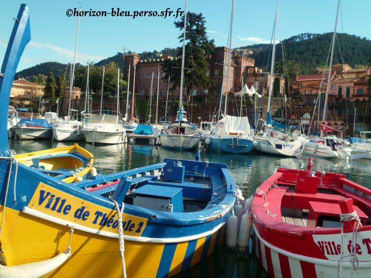 Theoule sur Mer - Le port