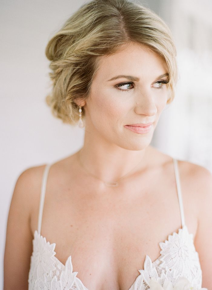 Soft and Natural Bridal Makeup with a Soft Braided Updo  https://heyweddinglady.com/peaches-cream-southern-bridal-inspiration/    #wedding#weddings#weddingideas#southernweddings#florida#weddingphotographer#peach#peachwedding#pastelwedding#pastels