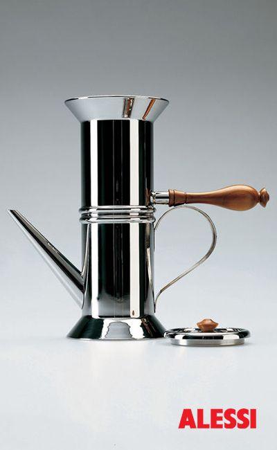 90018 - Neapolitan coffee maker, Riccardo Dalisi #design #alessi