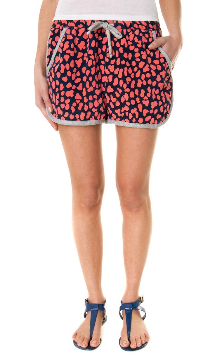 Sea NY Drawstring Animal Printed silk shorts - Spring/summer 2013