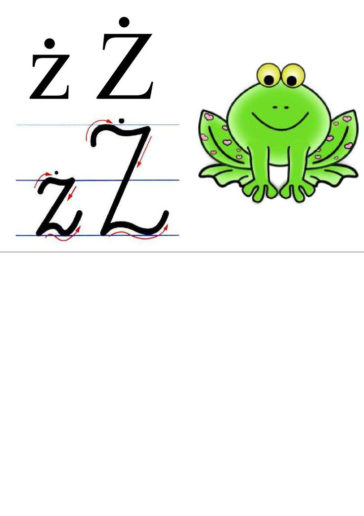 alfabet + obrazek do druku 13