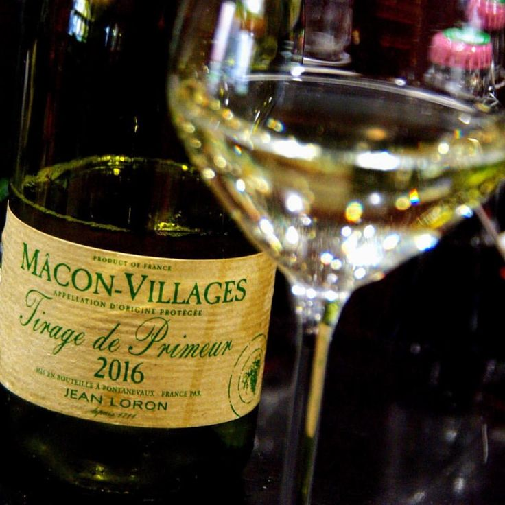 Un petit blanc en apéro au CardinalUn Macon Village tirage de primeur 2016 #lehavre #brasserie #vinblanc #vin #wine #macon