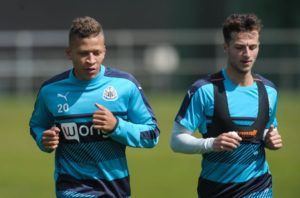 Dwight Gayle Sets Goal Target  Players Are Buzzing