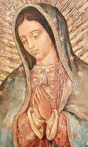 « Notre-Dame de Guadalupe, protège nos familles afin qu'elles soient toujours unies » - Notre Dame de Guadalupe, priez pour nous!
