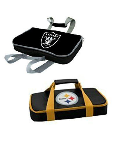 Pittsburgh Steelers and Oakland Raiders NFL Casserole Carriers * Visit the image link more details.