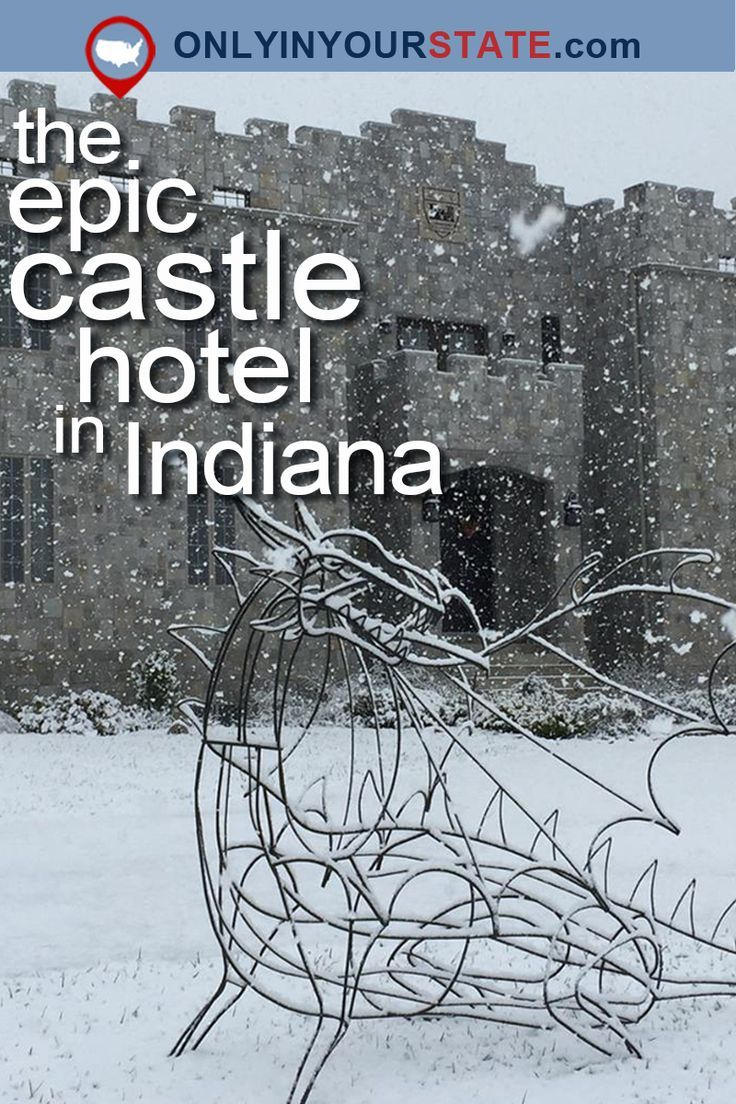 Travel | Indiana | Castle | Hotel | Accommodation | Unique | Historic | Architecture
