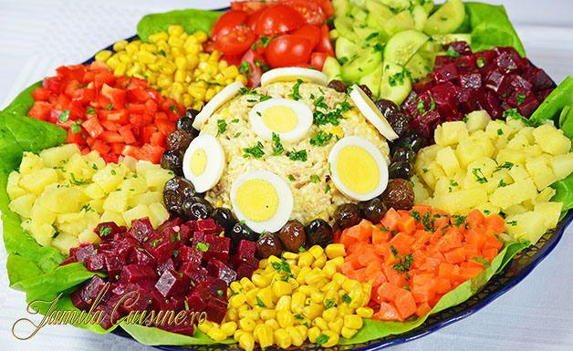 Salata marocana - reteta video