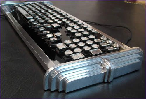 Technical Art and Steampunk Contraptions - the nicest keyboards ever