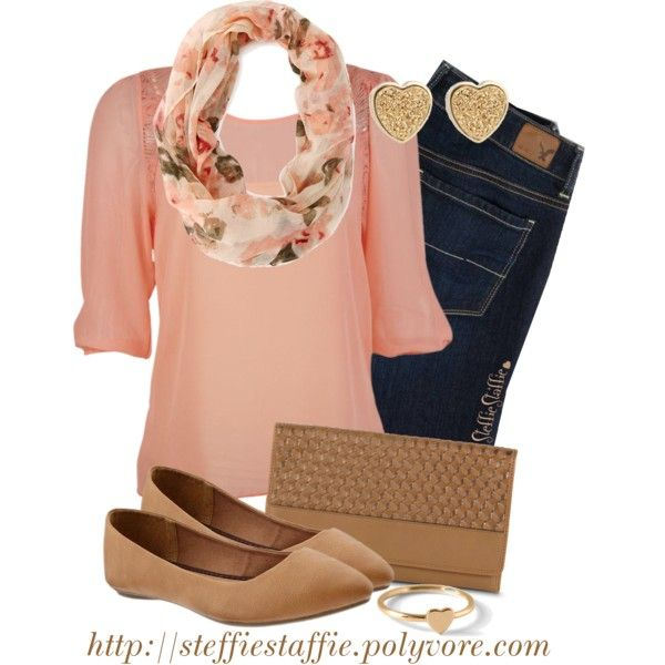 innovative peach shoes outfit