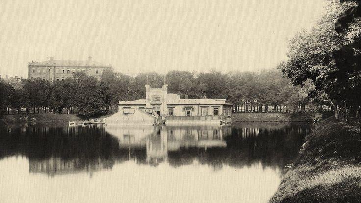 Патриаршие пруды 1913-й год