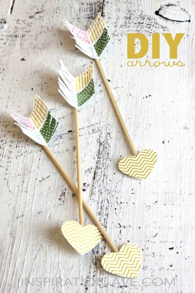 DIY arrows for valentines by Inspiration-ave