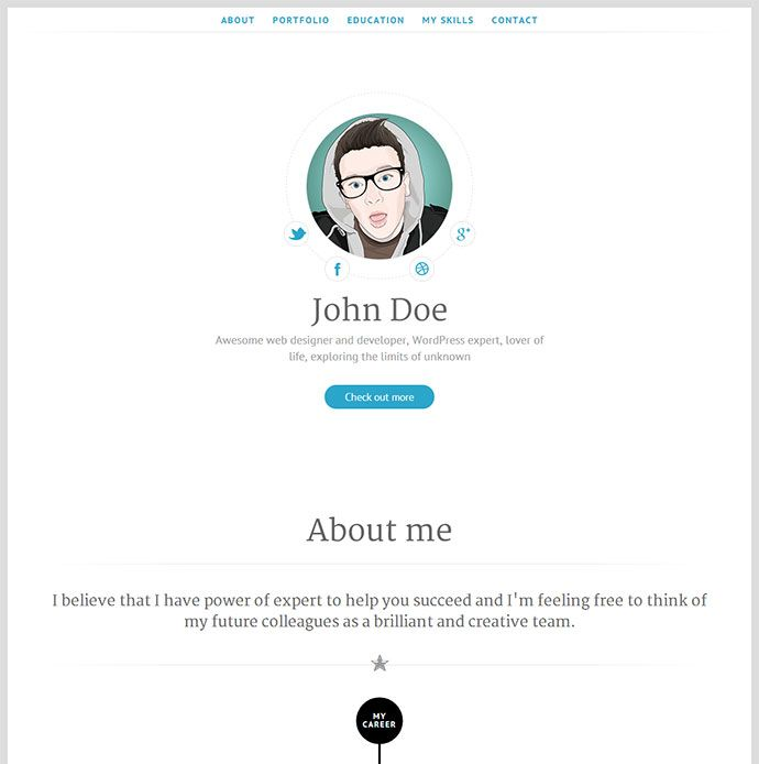17 best images about resume    cv templates on pinterest