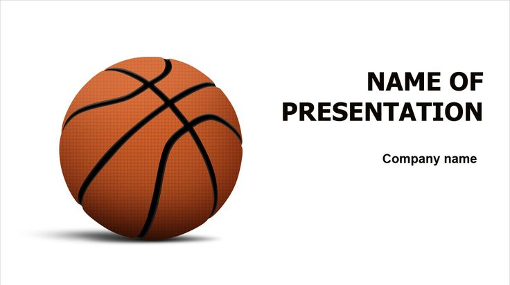 Basketball PowerPoint theme. This beautiful and creative PowerPoint theme is universal and fit for various presentations on sports, gym, basketball, competitive, playing, hoops, teamwork, etc.