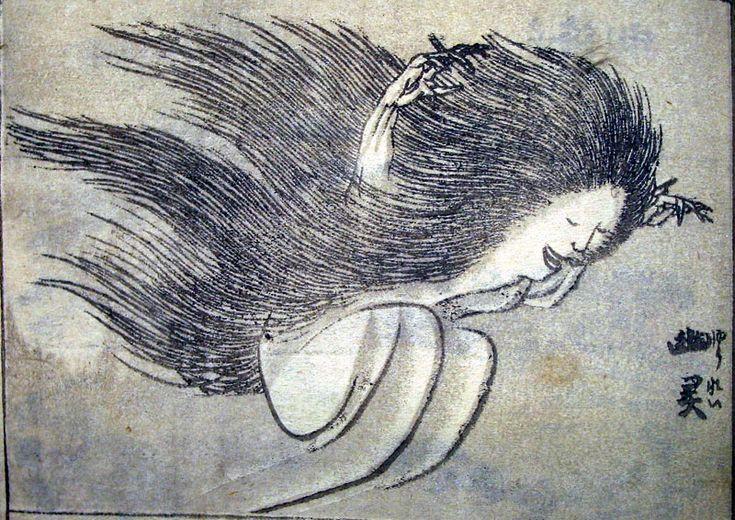 Hokusai yurei - Fantasma - Wikipedia