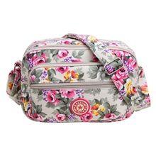 Hot Sale Handbag Vintage Women Messenger Bags for Women Bag Ethnic Style Print Flower Canvas Crossbody Shoulder Bags sac a main