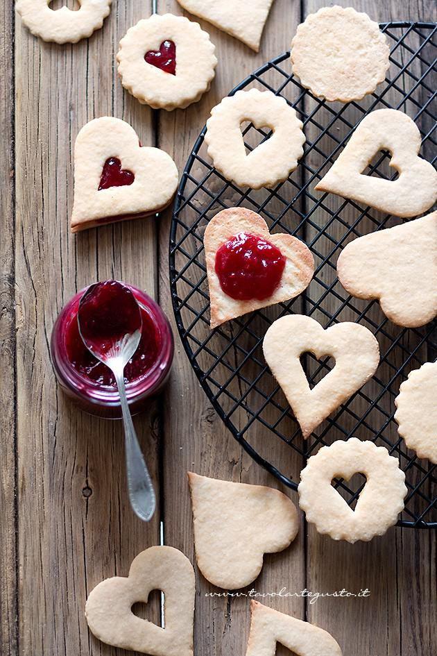 Come farcire i Biscotti con la marmellata- Ricetta Biscotti alla marmellata