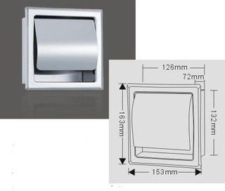 Bathroom Recessed Toilet Roll Holder - contemporary - toilet accessories - by sinofaucet