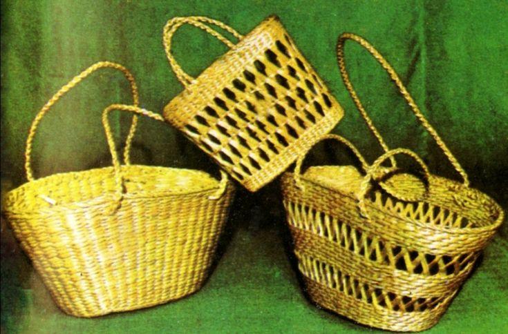 Плетение из кукурузных листьев (пэнуш) - Фотогалерея.Описаны техники плетения.