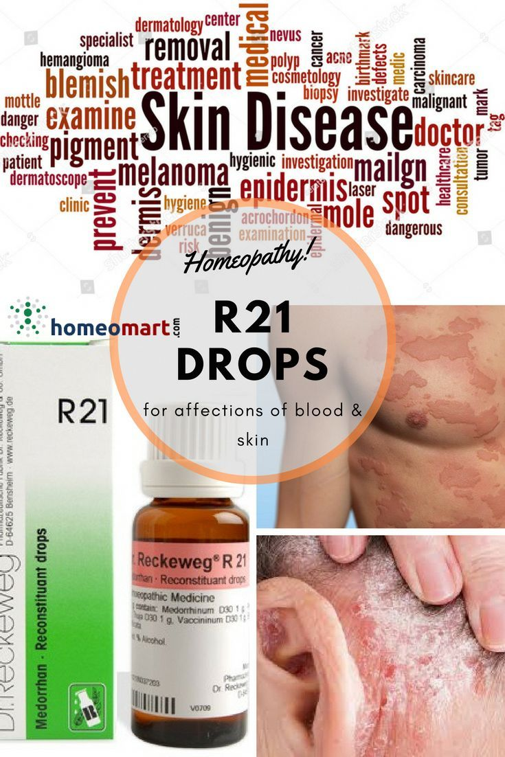 Dr  Reckeweg R21 reconstituant drops (affections of blood and skin