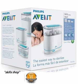Philips Avent 3 in 1 electric Steam Steriliser