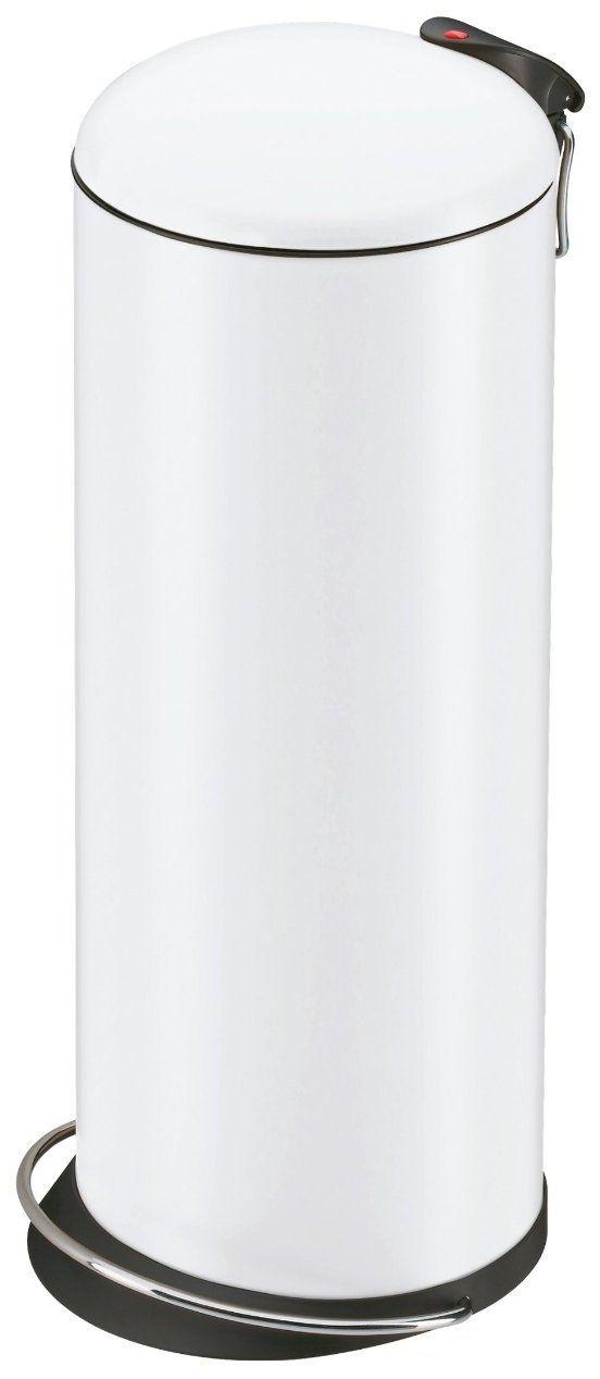 HAILO 0523-219 Pattumiera a pedale Trento® TOPdesign 26 , colore: Bianco: Amazon.it: Casa e cucina