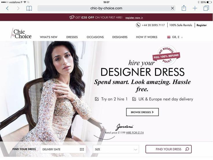 Ana Varela in Chic by Choice Website