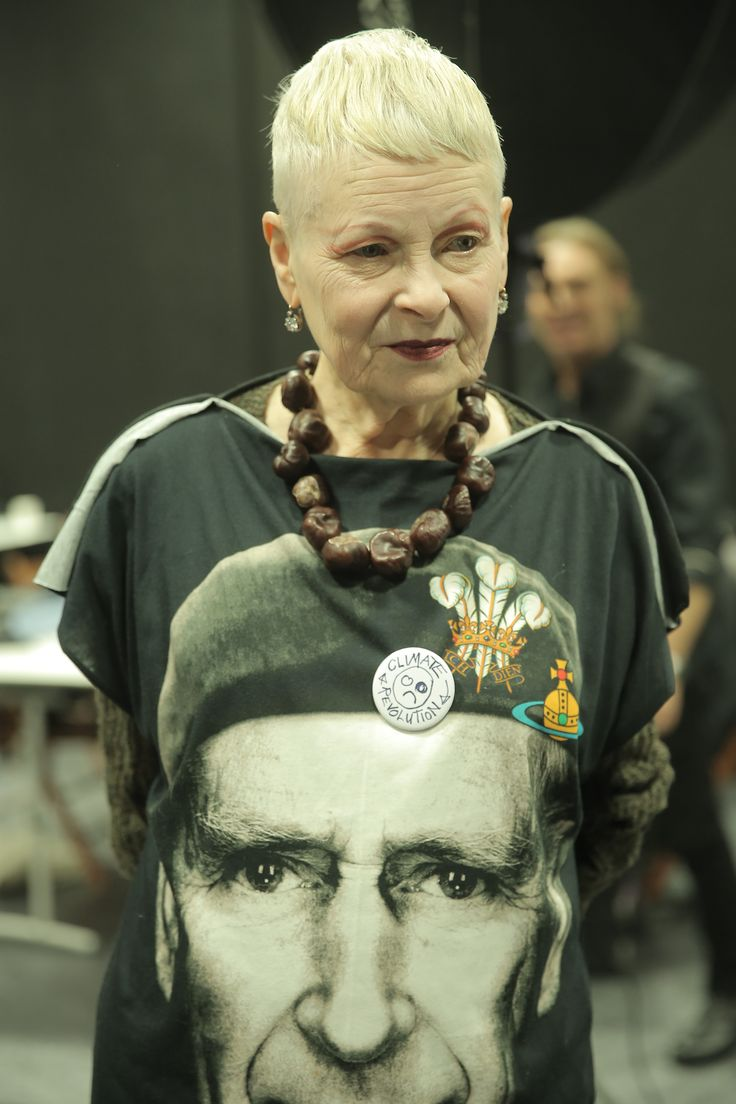 'The public happens to like me. Maybe they like me because I use every opportunity to talk about injustice.' Vivienne Westwood.