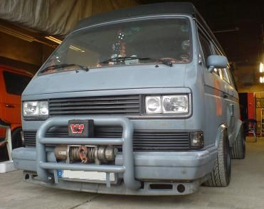 VW Van T25. You could take it more seriously if it wasnt lowered
