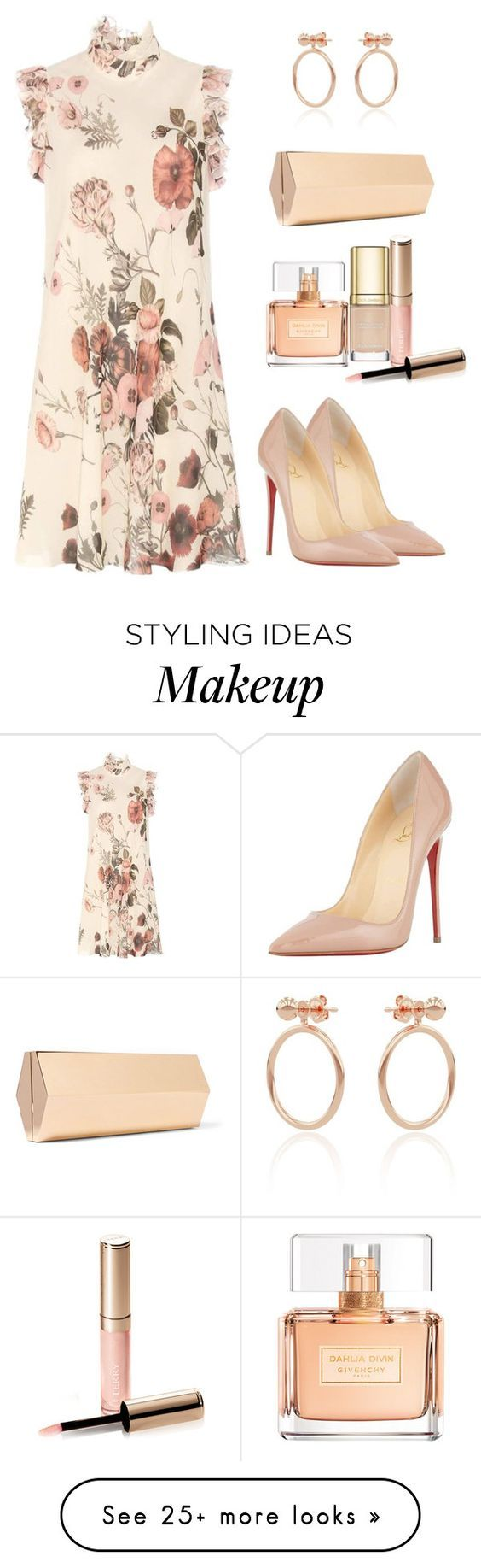 """Untitled #688"" by styledbyhkc on Polyvore featuring Giambattista Valli, Lee Savage, Smith/Grey, Christian Louboutin, Givenchy, Dolce&Gabbana and By Terry"