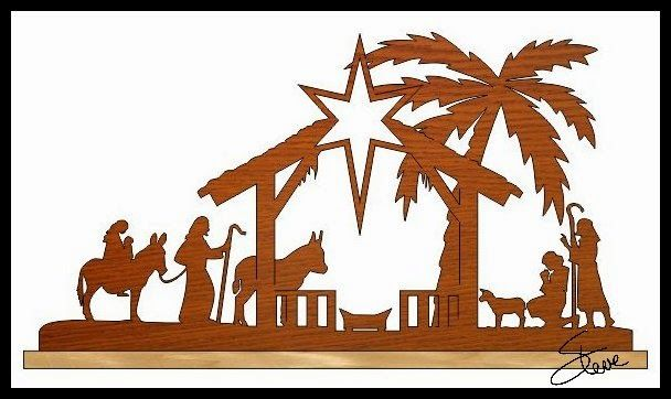71 best images about christmas religious on pinterest for Nativity cut out patterns wood