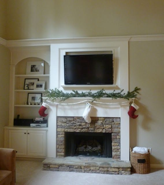 Possible Alternative For Our Fireplace Wall Makeover