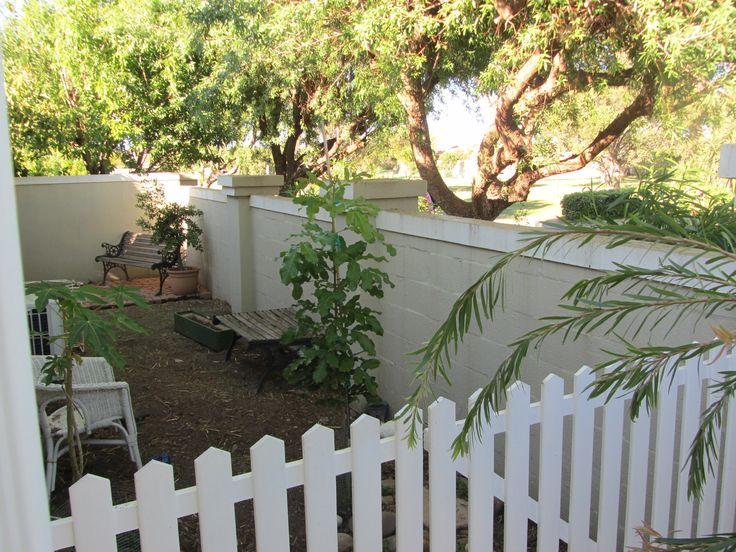 Picket fench in my garden.