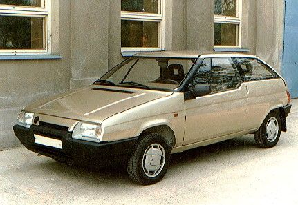 OG | 1988 Škoda Favorit Coupé | Prototype designed by Bertone