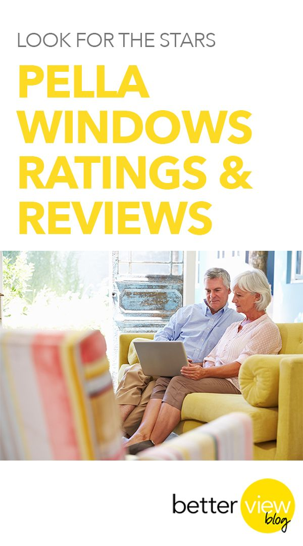 Look for the Stars, Pella Windows Ratings & Reviews.