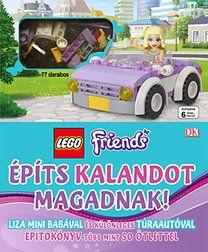 LEGO Friends - építs kalandot magadnak - Liza mini babával és különleges túraautóval