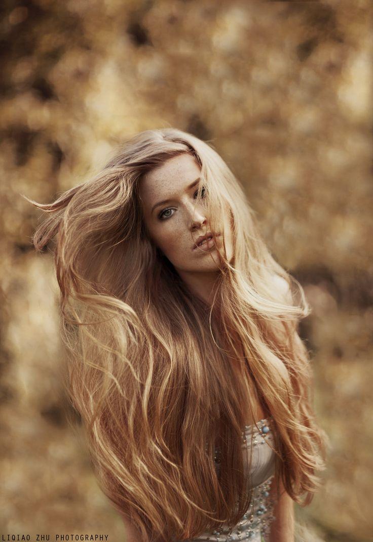 Nude Blonde Long Hair