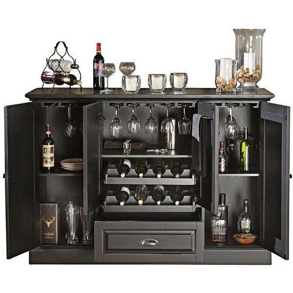 american heritage carlotta antique black bar cabinet x2799 liked on