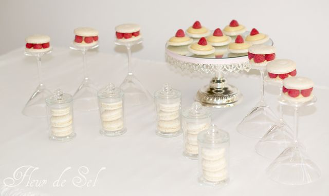 Valentine's Day mini dessert table