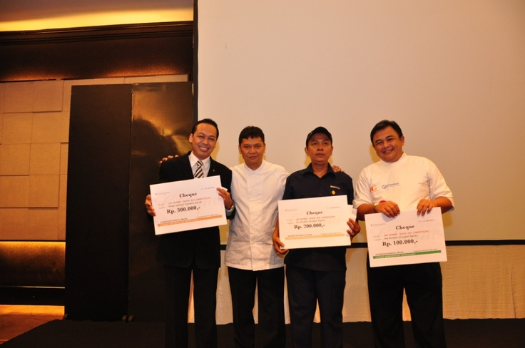 The Winner of Black Box Competition #InterContinental #Jakarta #Celebrate #Service #Week
