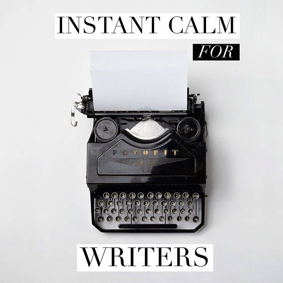 Instant Calm for Writers Guided Meditation Audio Download
