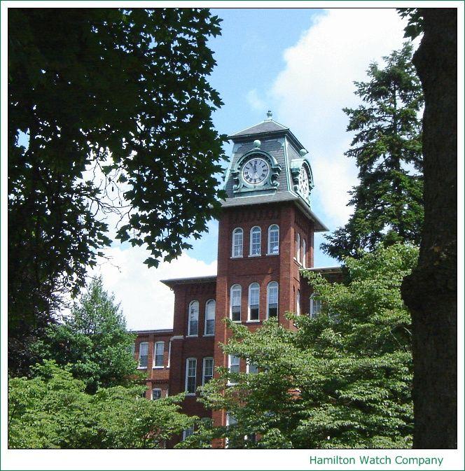 Historic 1892 Hamilton Watch Company Building, Now an Apartment Complex, Lancaster, Pennsylvania