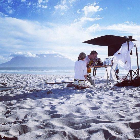 Backdrop beach