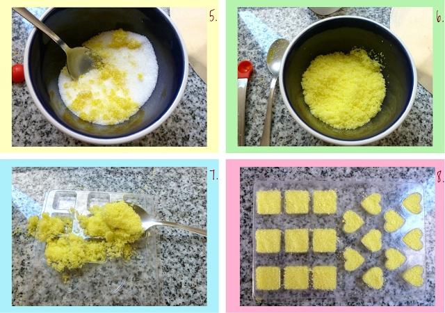 tutorial para hacer terrones de azucar de colores