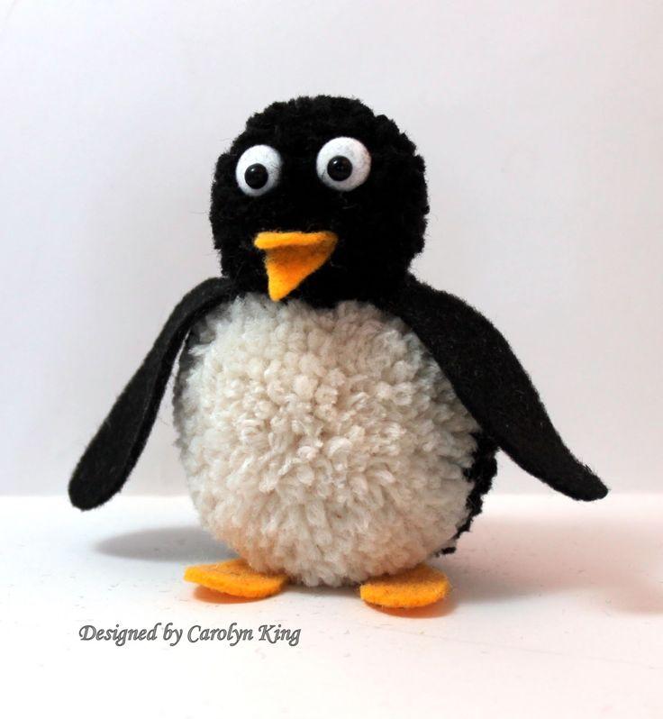 Penguin Pom Pom Animal