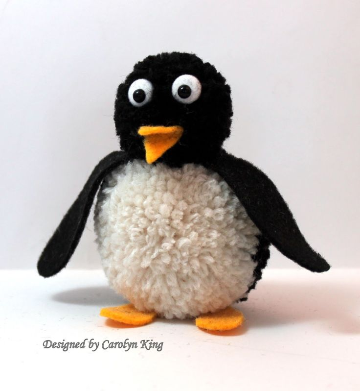 Penguin Pom Pom Animal